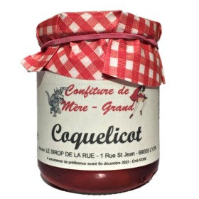 Confiture coquelicot bocal 250g