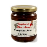Confiture orange pain d'épices